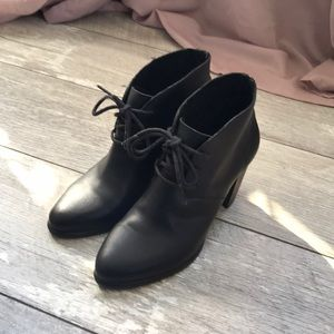 Ugg brand supple leather booties